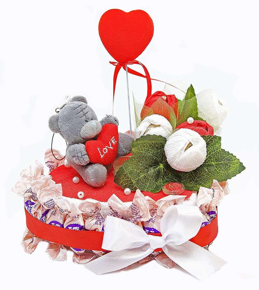 Букет из конфет Для любимой
