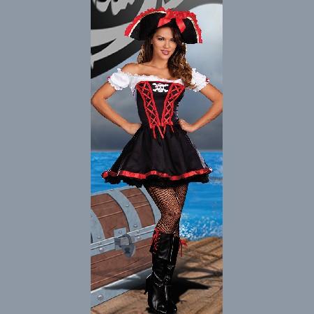 Маскарадный костюм Пиратка - Гроза кораблей