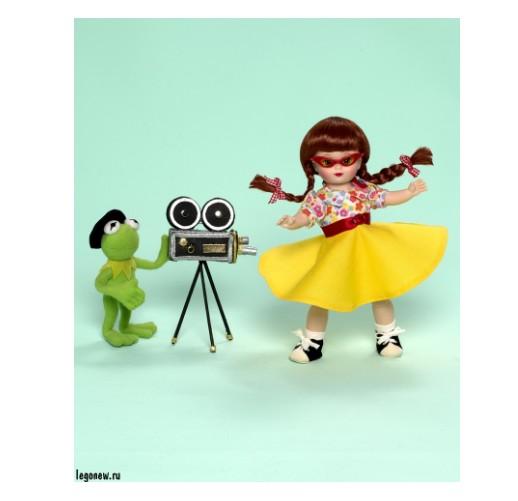 Набор кукол Мегги и Кермит в Голливуде