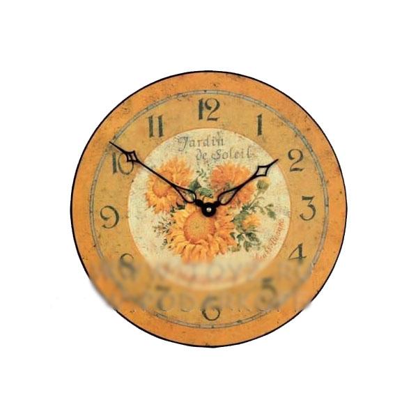 Часы настенные «Подсолнухи»