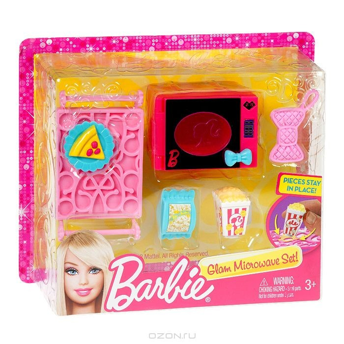 Мини-набор Микроволновка Barbie