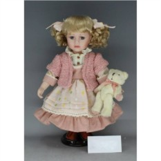 Фарфоровая кукла Настенька