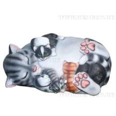Декоративный камень Кошка Маська
