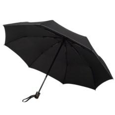Черный зонт Wood classic