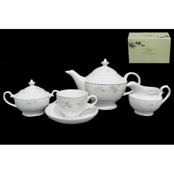Фарфоровый чайный сервиз 17 предметов Престиж