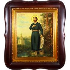 Симеон Верхотурский. Копия старинной иконы на холсте