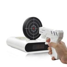 Будильник с пистолетом и мишенью Gun Alarm Clock