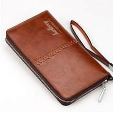 Мужское коричневое портмоне Baellerry Leather