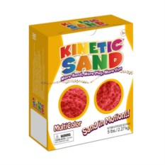 Красный кинетический песок (2,27 кг)