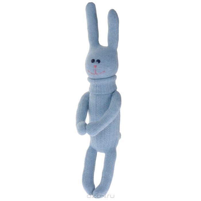 Авторская игрушка Зайка-обнимака Носкитос № 18
