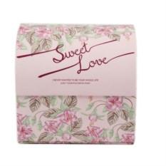 Квадратная шкатулка для ювелирных украшений Sweet love