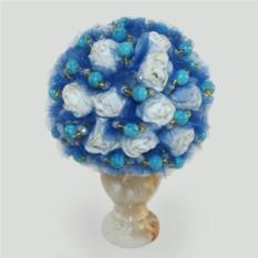 Цветы из бирюзы Бирюзовый шарм