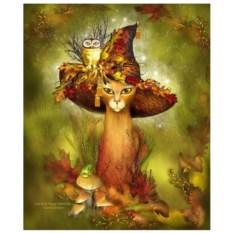 Картина-раскраска по номерам Волшебный лес
