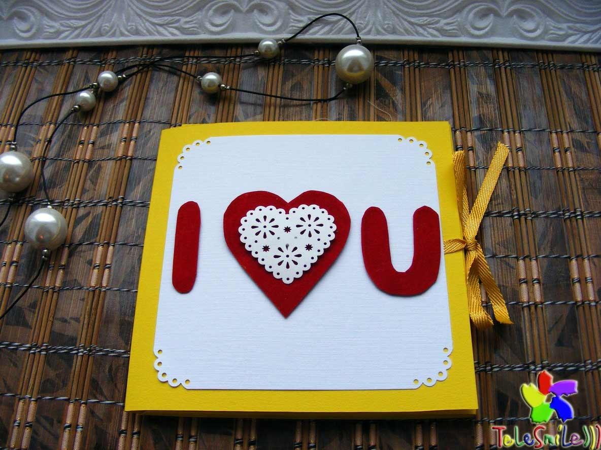 Эксклюзивная музыкальная открытка Валентинка