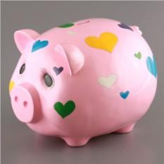 Копилка Свинка с сердечком