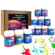 Набор красок для рисования на воде «Эбру»