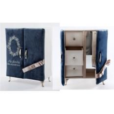 Шкатулка-шкафчик для ювелирных украшений