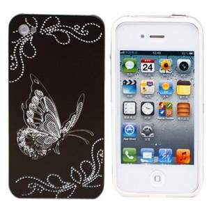Чехол для iPhone 4/4S Black Butterfly из серии Tune