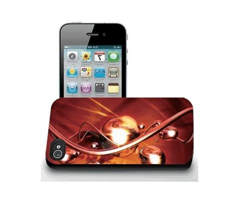 Панель для iPhone 4/4S «Спирали»