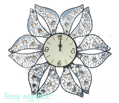 Часы настенные «Цветок»