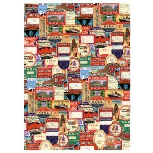 Оберточная бумага Bon Voyage Labels