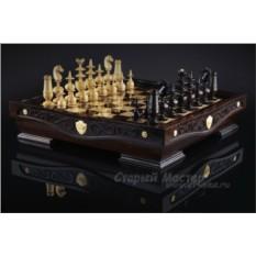 Шахматы «Режанс» самшит венге