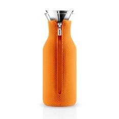 Оранжевый графин Fridge в неопреновом 3D чехле на 1 л