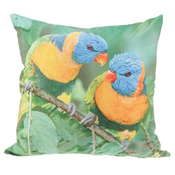 Подушка декоративная «Попугаи»