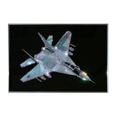 Картина Swarovski Военный истребитель