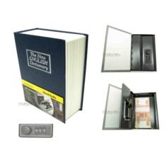Книга-сейф с кодовым замком The new english dictionary Blue