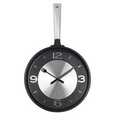 Настенные часы для кухни Сковородка