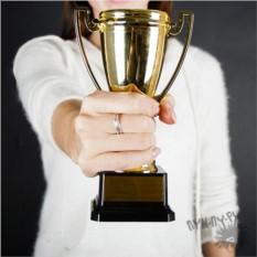 Кубок с гравировкой Заслуженная награда