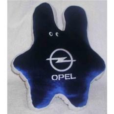 Тесно-синяя подушка в форме зайца Opel