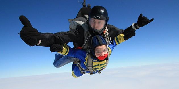 Сертификат на Прыжок с парашютом в тандеме с 4000 метров