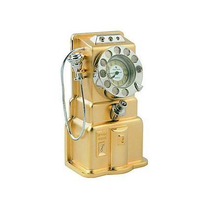 Миниатюрный ретро-телефон
