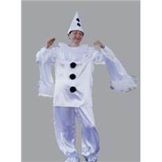 Карнавальный костюм Пьеро (большой), размер 50-54
