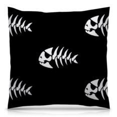 Подушка с полной запечаткой Символ пастафарианства
