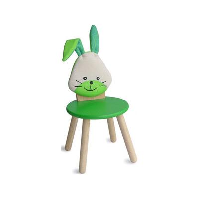 Стул детский Зайчик зелёный, I'm Toy