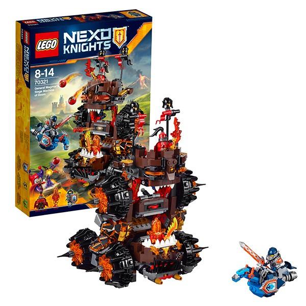 Конструктор Lego Роковое наступление Генерала Магмара