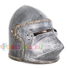 Детский шлем рыцаря с забралом Собачья морда