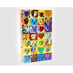 Книга-сейф «Сердечки»