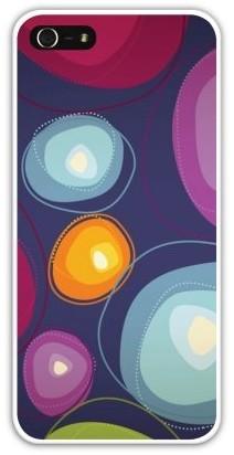 Накладка пластиковая для iphone 5/5S, цветные круги