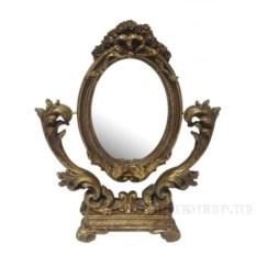 Настольное зеркало высотой 33 см
