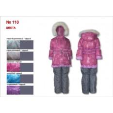 Малиновый зимний полукомбинезон и куртка