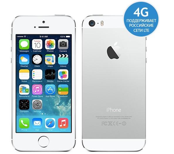 Apple iPhone 5S 16Gb (Белый)