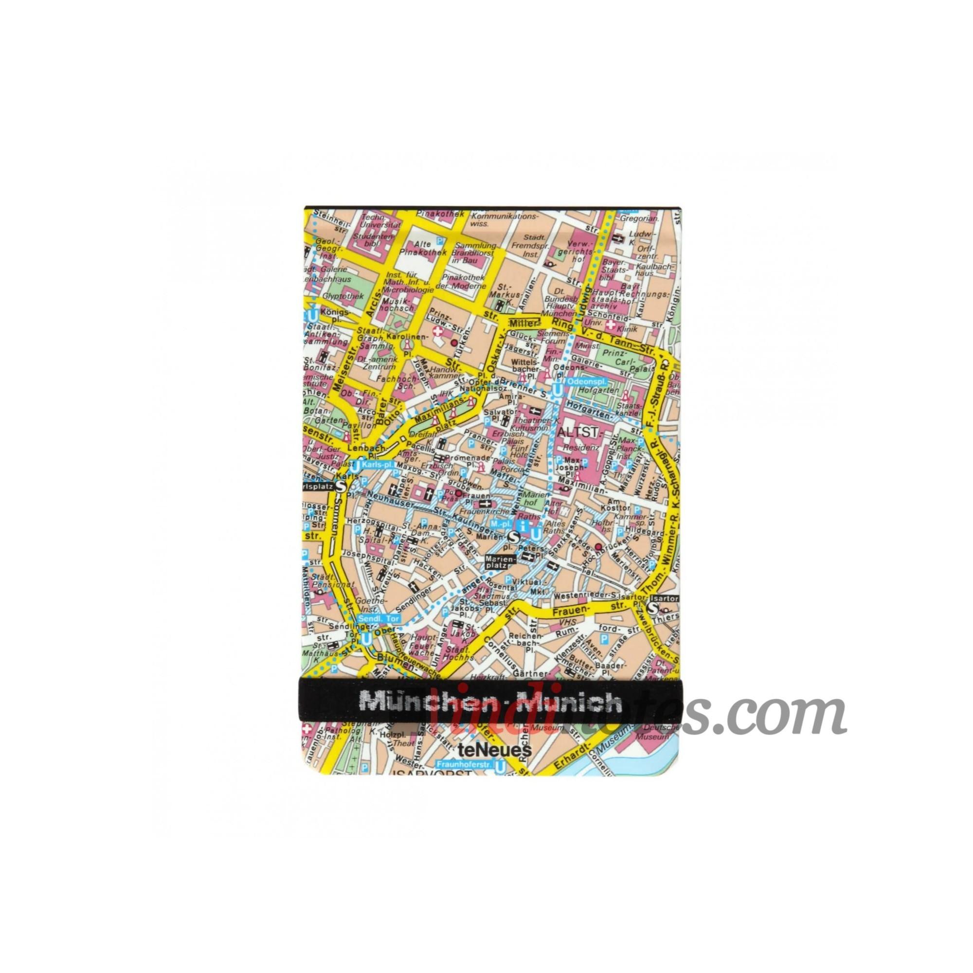 Блокнот City Flip Pad — Munchen от teNeues