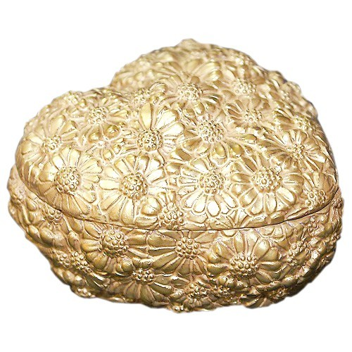 Шкатулка Золотое сердце Cattin