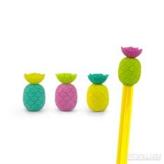 Ластики на карандаши Totally tropical pineapple