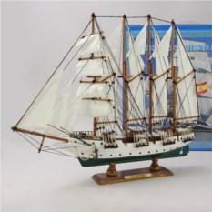 Модель парусника J.S.Elcano