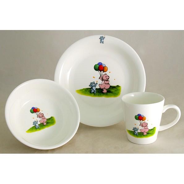 Детский набор посуды «Медвежата»